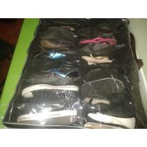 Organizador De Zapatos Bajo Cama Para 12 Pares De Calzados