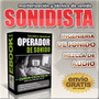 Kit Operador Sonido + Soundforge 10+ Cubase 7+ Envio Gratis!