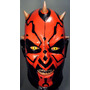 Mascara Darth Maul P/ Disfraz Star Wars, Amenaza Fantasma