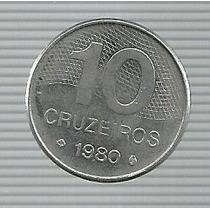 Brasil 10 Cruzeiros 1980