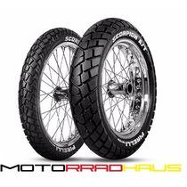 Cubierta Pirelli 110/80-18 M/c 58s Mt90 A/t