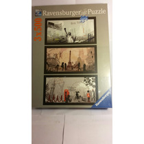 Puzzle Ravensburger 3x500pzs City Art Milouhobbies R0178
