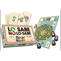 Juego Lo Sabe No Lo Sabe Con Fichas Original Gato Garabato.