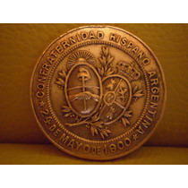 Moneda De Cobre Año 1900 Homenaje A España