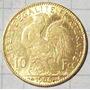 Francia 10 Francos Oro 1906 3.2 Gramos Muy Linda