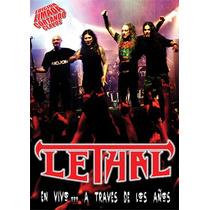 Lethal - En Vivo A Traves De Los Años - Dvd