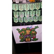 Tortugas Ninjas * Cumple Completo 20 Niños