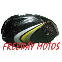 Tanque Nafta Yamaha Ybr 125 Negro Con Calco Freeway Motos