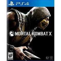 Mortal Kombat X Ps4 Digital Jugas Con Tu Usuario