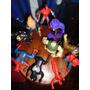 Lote 10 Muñeco Figura Marvel Spiderman Burger King Toy Biz +