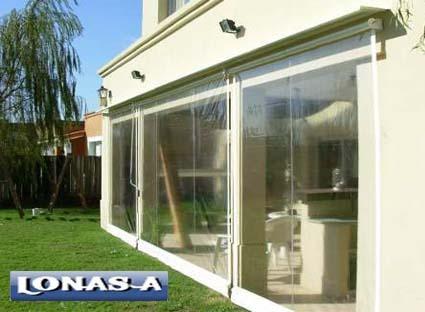Lona pvc cristal cerramiento m 2 n 5 cortina toldos for Ojales para toldos
