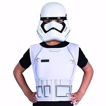 Disfraz Star Wars Kit Mascara Y Pechera