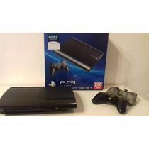 Playstation 3 250gb En Caja 2 Joys Hdmi 16 Juegos Impecable