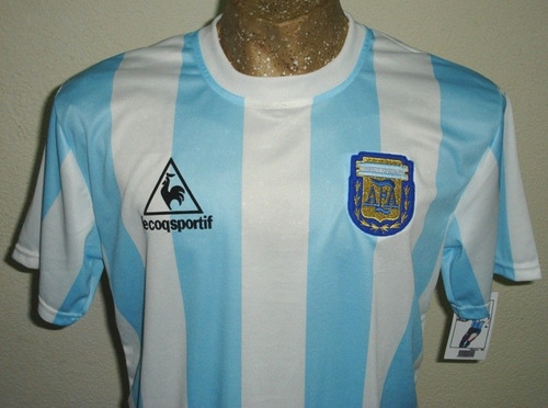 Camiseta Argentina 1986 Retro 10 Maradona S M L Xl Xxl f5d37a3dbcc98