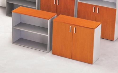 Wizzy biblioteca melamina 90x46x86 abierta en venta en for Muebles de oficina wizzy