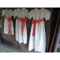 Vestido Cortejo Nena Niña Casamiento Comunion Novia Fiesta
