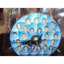 Reloj Cd Souvenirs, Egresados, Incluye Pila Y Atril,