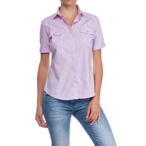 Camisa Kevingston Mujer Sauco Bsness Esc M/c