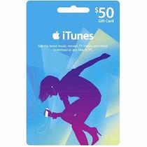 Itunes 50 Gift Card Iphone Ipod Ipad Usa Codigo Platinum