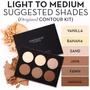 Paleta De Contornos Anastasia Beverly Hills_light To Medium
