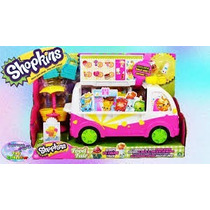 Shopkins Scoops Ice Cream Truck - Camión De Helados