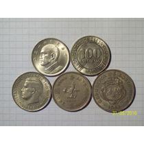 Colección 5 Monedas Grandes Del Mundo