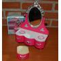 1970 Antiguo Tocador Con Espejo Escala Muñeca Barbie En Caja