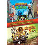 Dvd Monstruos Vs. Aliens + Madagascar 2 Original Elfichu2008