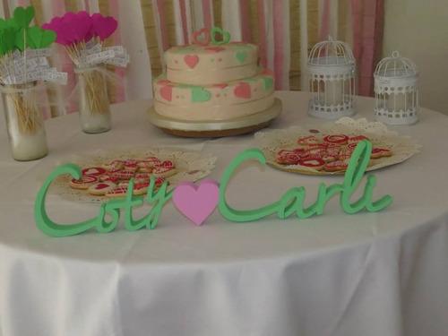 Letras para candy bar nombres candybar 300 f2qij for Cuanto sale hacer una pileta de material 2016