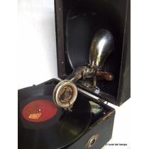 Antiguo Gramofóno Ingles Marca Deca Fonola Grafonola Vitrola