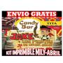 Kit Imprimible Jake Y Los Piraras Candy Bar + Calendario2014
