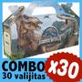 Dinosaurios Jurassic World Cajita Valijita Bolsita Combo X30