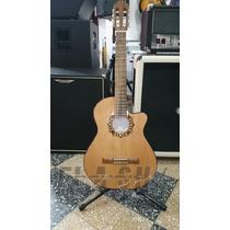 Guitarra Clasica Fonseca 39 Kec Con Eq C/ Estuche Rigido Skb