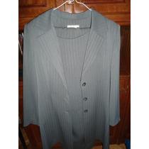 Conjunto De Saco Trench Blazer Y Vestido Entallado, Nuevos!!