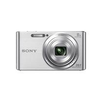 Sony Cyber Shot Dscw830 20.1 Megapixels Silver+bolso+16gb