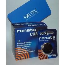 Pilas Cr2450n Litio - Para Sensores Inalambricos X28 Alarmas