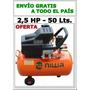 Compresor Aire Niwa 2,5 Hp- 50 Litros- Envío Gratis !!!!