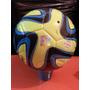 Pelota Adidas Brazuca Matchball Glider Verde Fluo/azul/celes