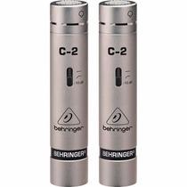 Behringer C-2 Micrófonos Condenser T/lápiz P/tomas Áreas