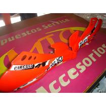 Cubre Mano Circuit Sx Enduro Rojo En Mtx Motos
