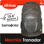 Mochila Samsonite Tronador Porta Notebook Organizador Mp3