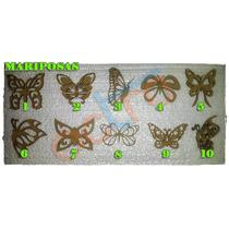 Figuras Mariposas Corte Laser 25cm X 10 Unidades