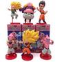 Dragon Ball Z Mini Figuras Batalla Vs Boo Set X6