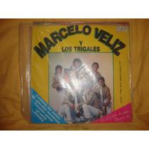 Vinilo Marcelo Veliz Y Los Trigales El Contragolpe Del Año