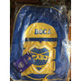 Mochila Escolar Boca Jr. Original