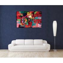 Rocky Y Apollo En El Ring En 70x40 Cm Tela Canvas