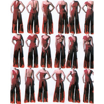 Vestido Pantalon Palazzo Mono Multiuso Seda Fria Talle Xxxxl