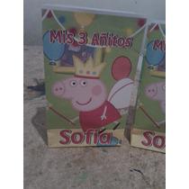 Pepa Pig Bolsitas Personalizadas X 20
