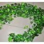 Guias De Hiedra Hojas Planta Artificial Decoracion Uvas Flor