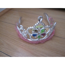 Corona De Princesa Con Luces Y Plumas